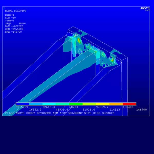 Design Simulation & Finite Element Analysis (FEA) Services