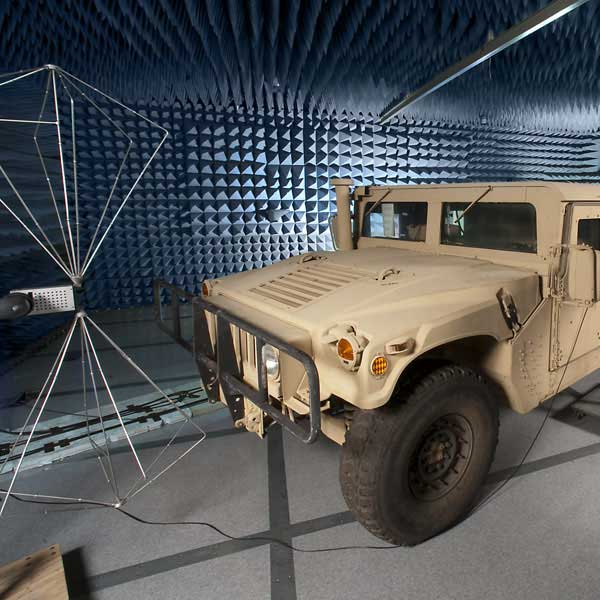 EMI Testing for the Military & Aerospace