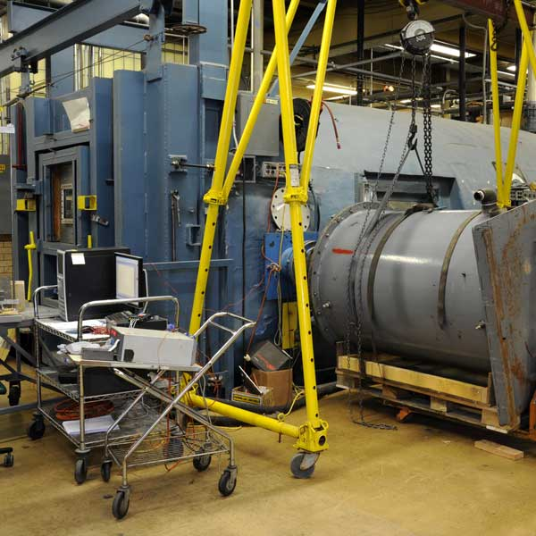 Rapid and Explosive Decompression Testing